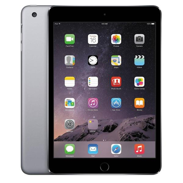 Apple iPad Mini 3 64GB Unlocked GSM 4G LTE + Wi-Fi Certified Refurbished Tablet PC