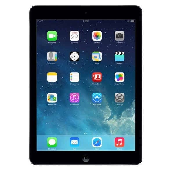 Apple iPad Air 16GB Wi-Fi Tablet Certified Refurbished Tablet PC