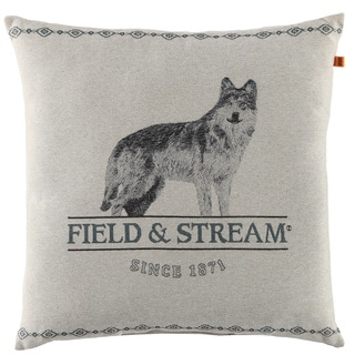 Lone Wolf Tapestry 18-inch Throw Pillow by Field & Stream