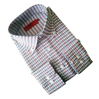 Elie Balleh Boy's 'Milano Italy' Multicolor Slim Fit Shirt