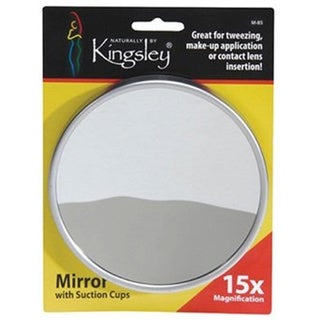 Harry D Koenig and Co 15x Magnification Mirror with Suction Cup