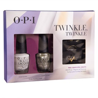 OPI 2-pack Twinkle Twinkle with Midi Rings