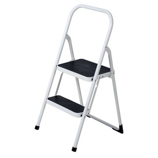 Cosco 2 Step Wood Folding Step Stool 13556168