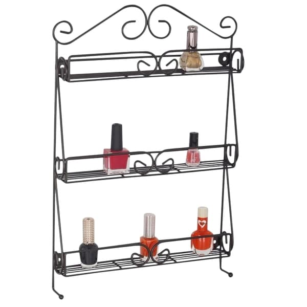 Nail Polish and Cosmetics 3-tier Organizer