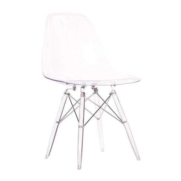 eames style dsw side chair with clear seat and legs 16414737 kha