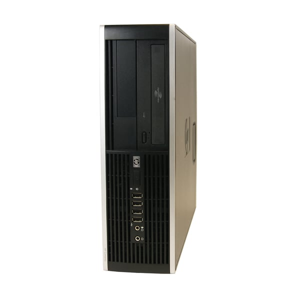 HP 6000 SFF 2.8GHz Intel Pentium Dual-Core 2GB RAM 250GB HDD Windows 7 Desktop (Refurbished)