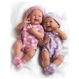 JC Toys My Very Own Twin Dolls