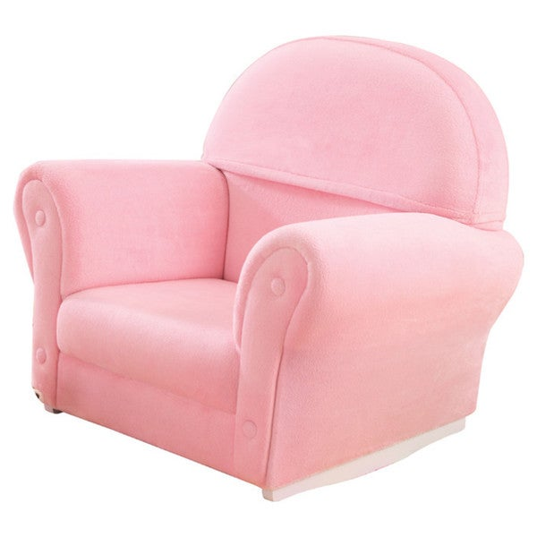 KidKraft Upholstered Velour Rocker