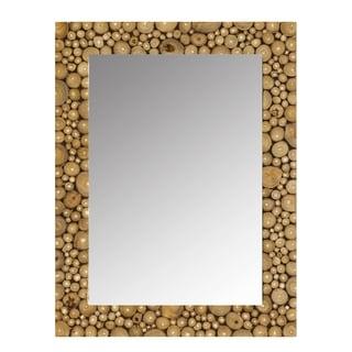 Ramita Teak Wall Mirror