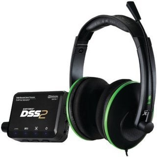 Turtle Beach Ear Force DXL1 Dolby Surround Sound Gaming Headset for Xbox 360