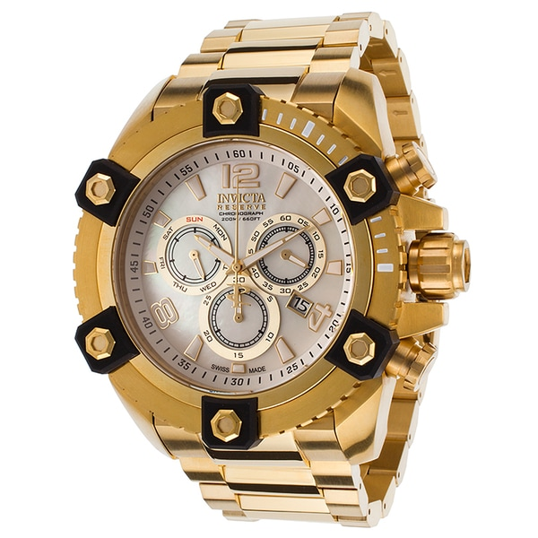 Invicta Men's 15828 Arsenal Quartz Chronograph White Dial Watch