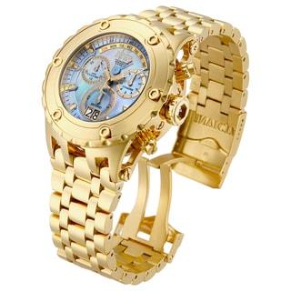 Invicta Men's 16886 Subaqua Quartz Chronograph Platinum Dial Watch