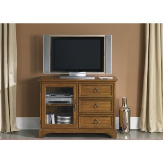 Beacon Transitional Oak TV Console