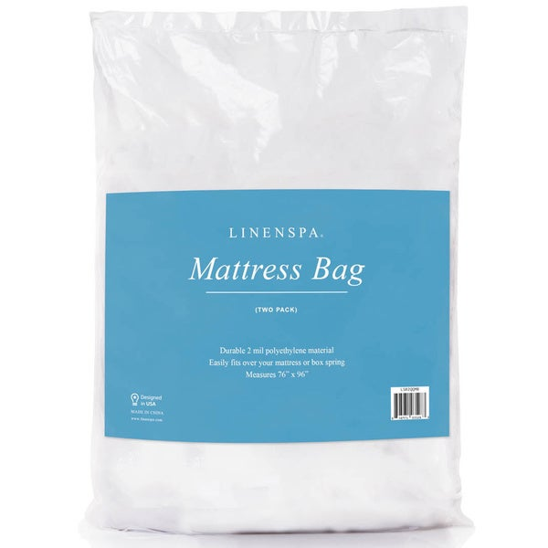 LINENSPA Queen Mattress Bag for Moving and Storage Set of