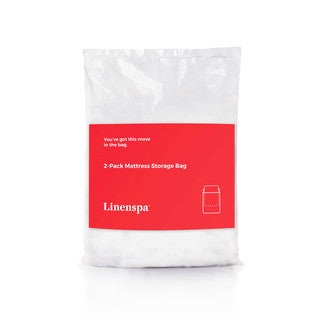 Linenspa Heavy Duty Mattress Bag for Moving and Storage, Queen (Set of 2)