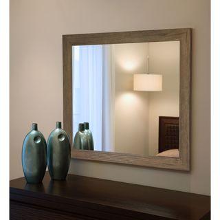 American Made Brown Barnwood Mirror