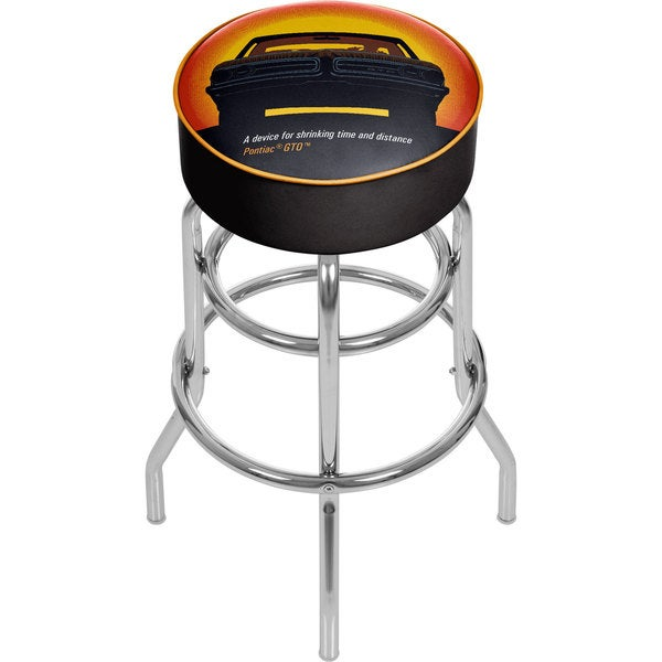 Pontiac GTO Padded Swivel Bar Stool