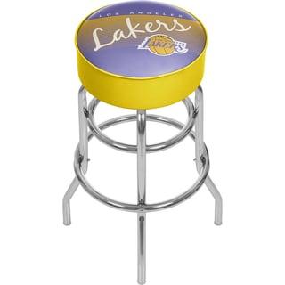 Los Angeles Lakers NBA Hardwood Classics Bar Stool