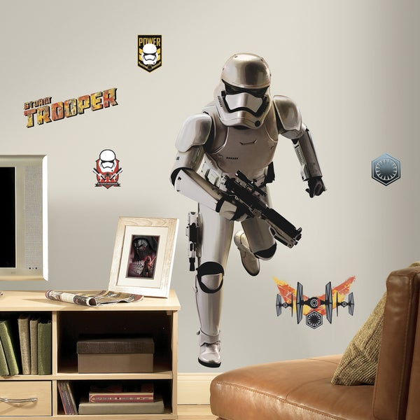 RoomMates Star Wars Episode VII Storm Trooper Wall Decal 16416084