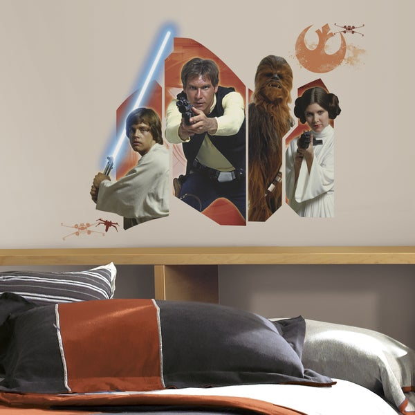 RoomMates Star Wars Classic Burst Giant Wall Decal