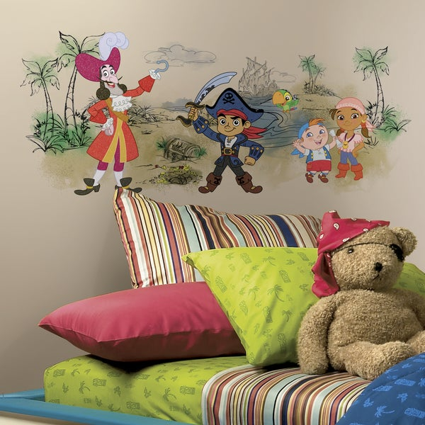 RoomMates Captain Jake and the Never Land Pirates Scene Giant Wall Graphic
