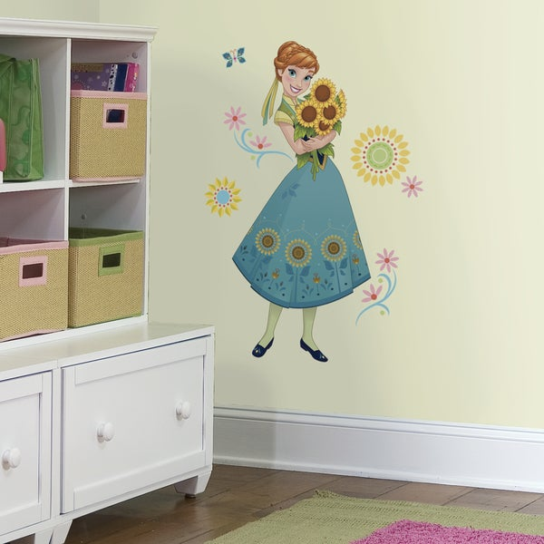 RoomMates Disney Frozen Fever Anna Giant Wall Decals