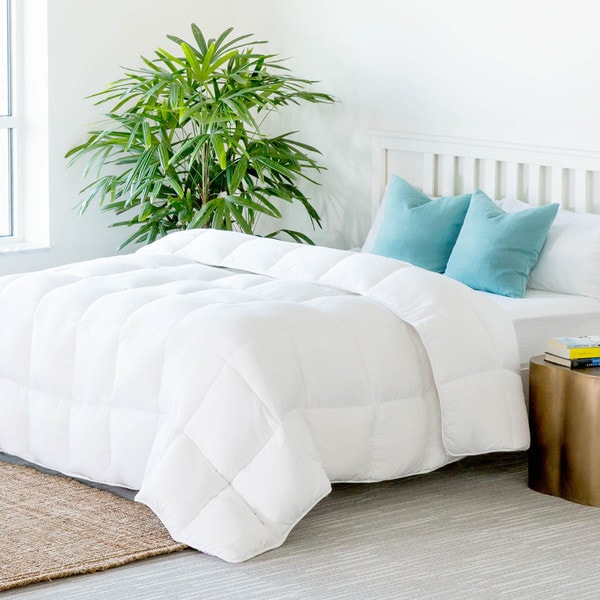 Linenspa White Down Alternative Quilted Comforter With