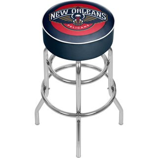 New Orleans Pelicans NBA Padded Swivel Bar Stool