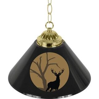 Hunt Deer Single Shade Bar Lamp - 14 inch