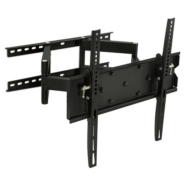 Mount-It! MI-347L 32 to 65-inch Full Motion Articulating Dual Arm TV Wall Mount with Corner Bracket