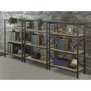 Griffeth 44-inch Bookcase Wall (Set of 3)