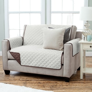 """Luxury Reversible Loveseat Furniture Cover (75"""" x 88"""")"""