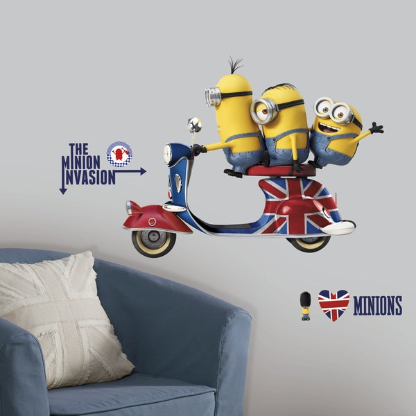 RoomMates Minions the Movie Giant Wall Decals
