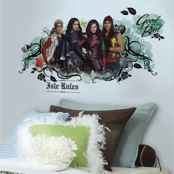 RoomMates Descendants Isle of the Lost Wall Graphic Decal