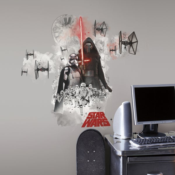 Star Wars Ep VII Villain Burst Giant Wall Decal