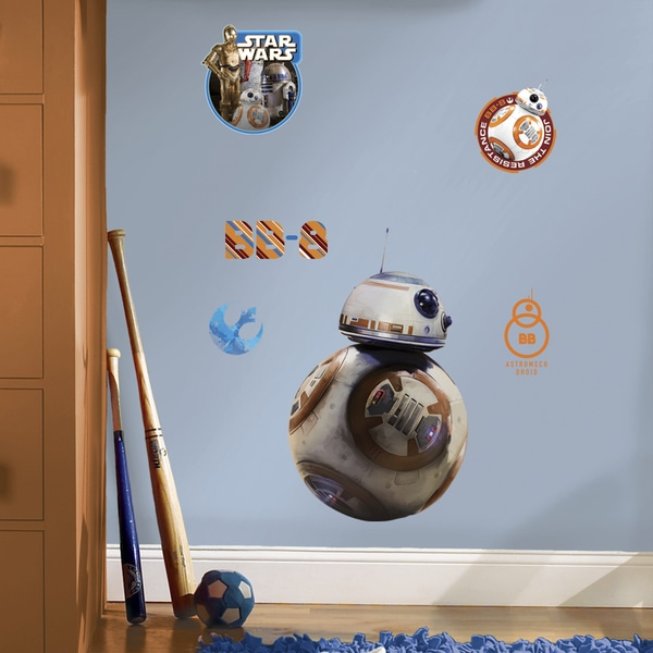 RoomMates Star Wars Episode VII BB8 Giant Wall Decal 16416542