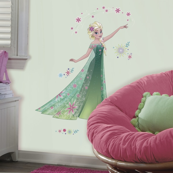 RoomMates Disney Frozen Fever Elsa Giant Wall Decals