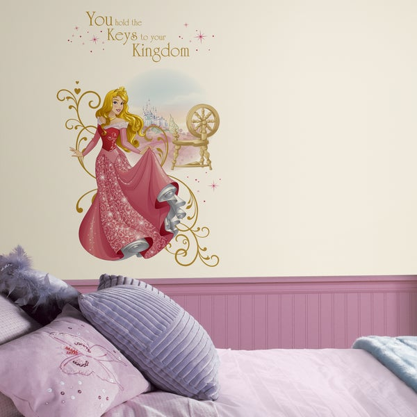RoomMates Disney Princess Sleeping Beauty Giant Wall Graphic Decal