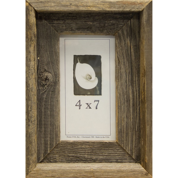 Barnwood Picture Frame 4x7