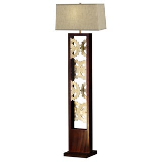 Nova Lighting Gears Bronze Floor Lamp