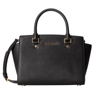 Michael Kors Selma Medium Top Zip Satchel Handbag