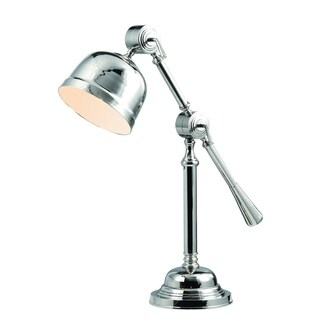 Elegant Lighting Vintage Task Collection TL1255 Table Lamp with Chrome Finish