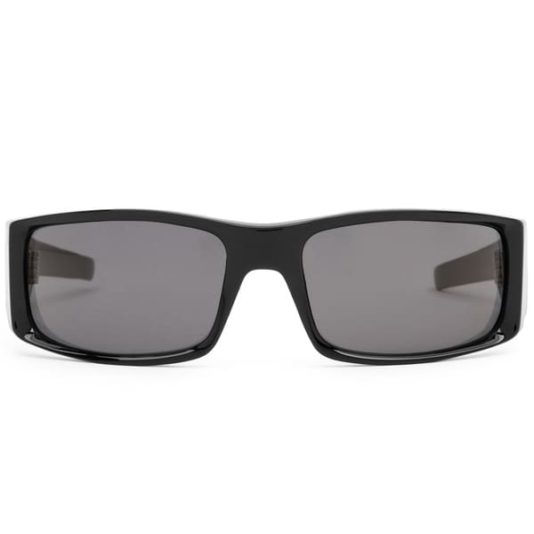 Spy Optic Men's 'Hielo' Shiny Black Grey Polorized Sunglasses