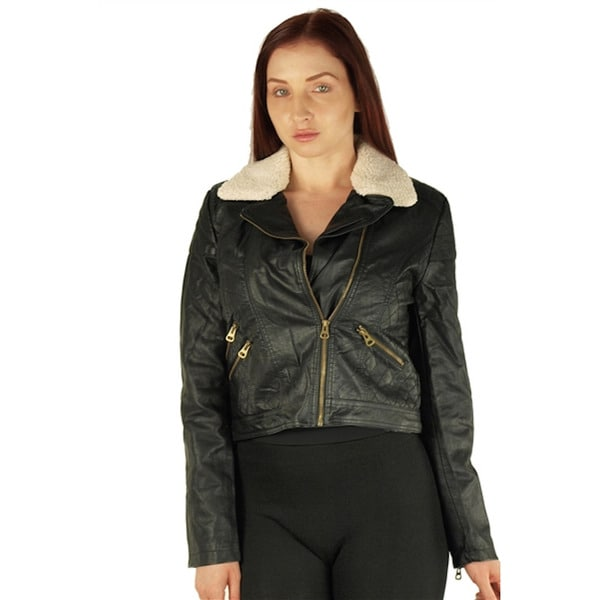 Viva USA Women's Black Zip Up Jacket
