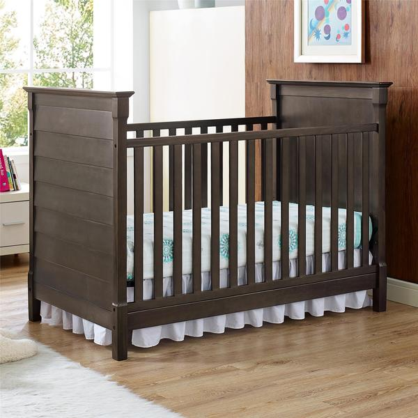 Baby Relax Slade Rustic 2-in-1 Convertible Crib