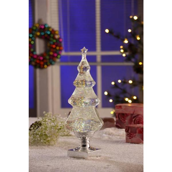 Legion Silver Christimas Tree with Snow Topper