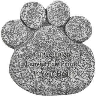 Pet Paw Tombstone