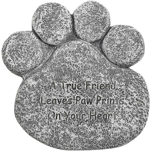 Pet Paw Tombstone