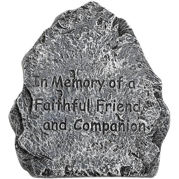 Pet Memorial Faux Stone Tombstone