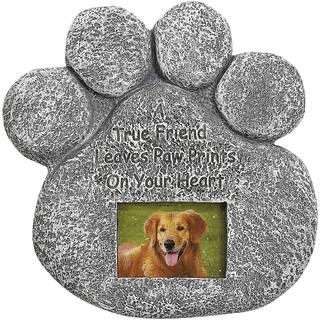 Dog Paw Photo Tombstone